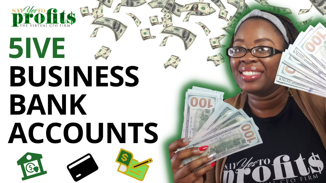 5 Bank Accounts Every Small Business Owner Needs