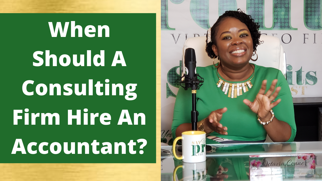 When Should A Consulting Firm Hire An Accountant?