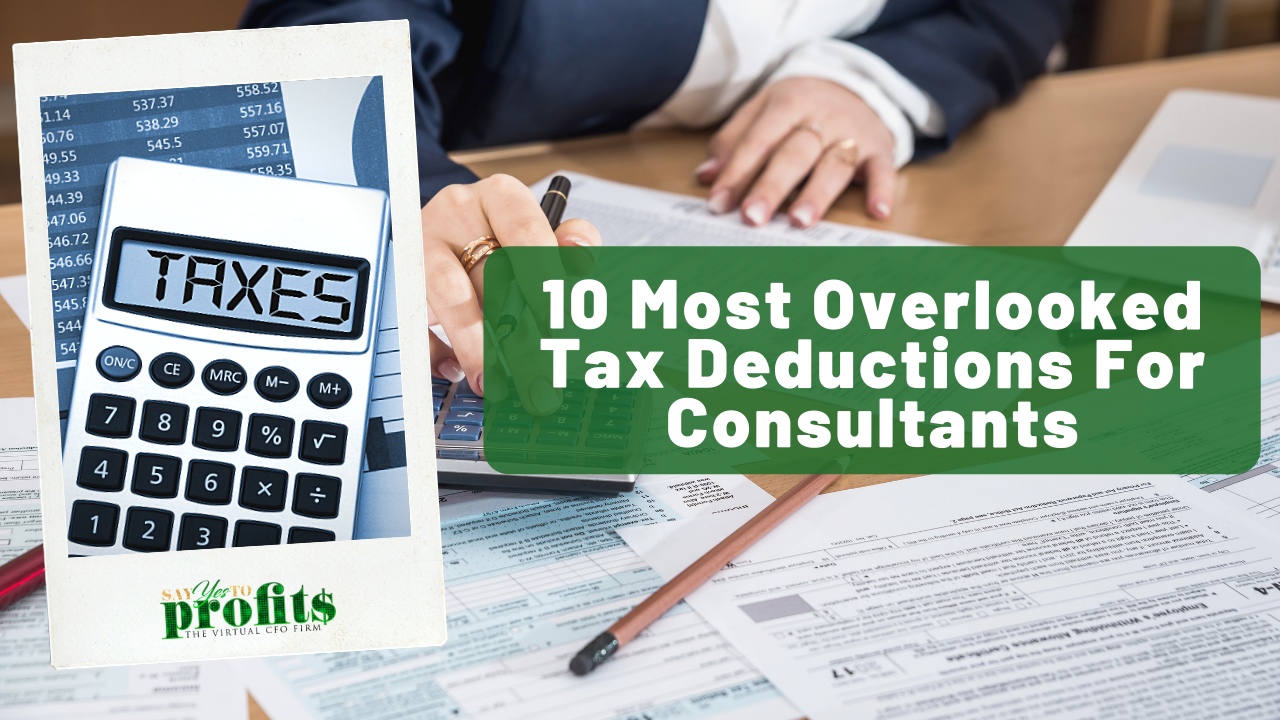 10 Of The Most Overlooked Tax Deductions