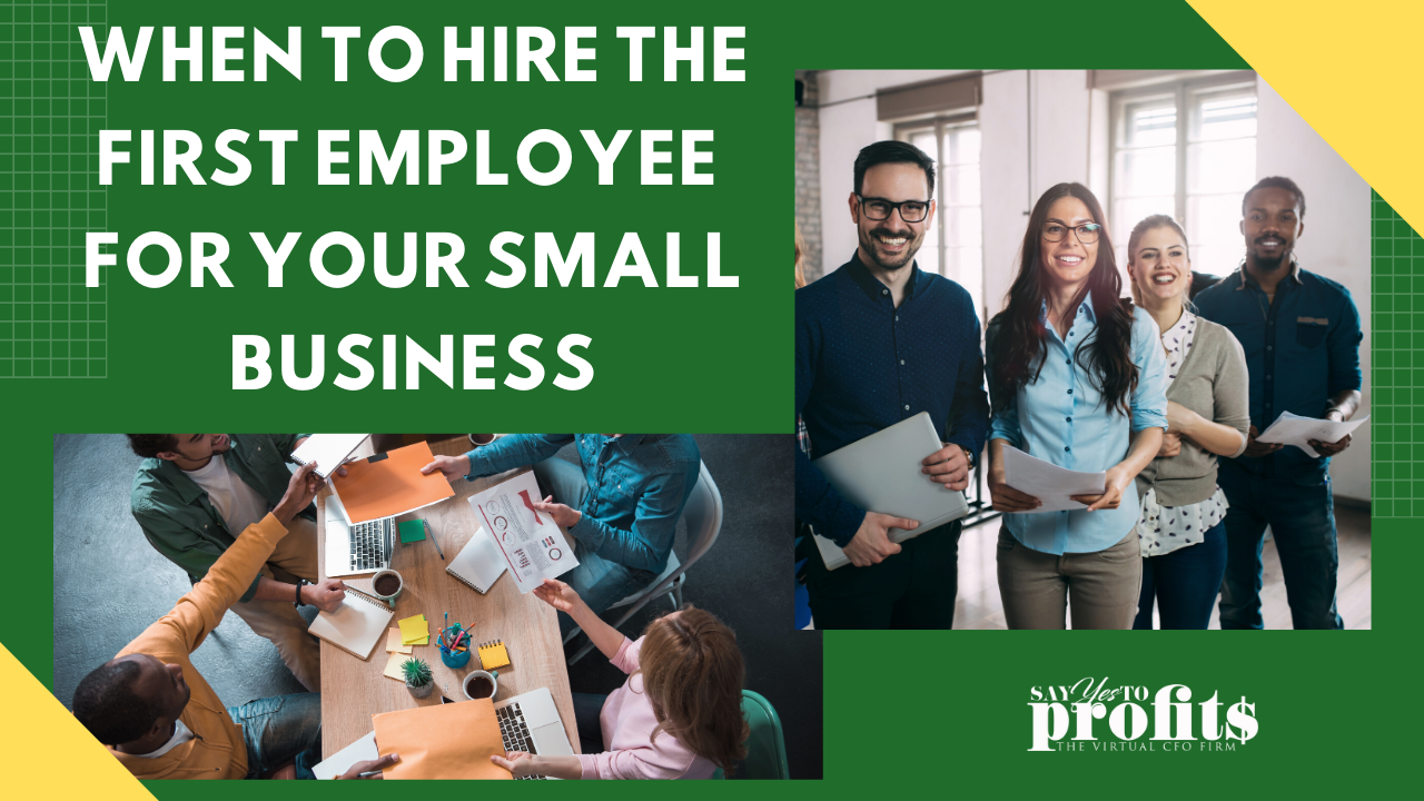Hiring Your First Employee - Say YES To Profits