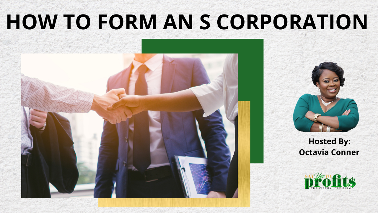 How To Form An S Corporation