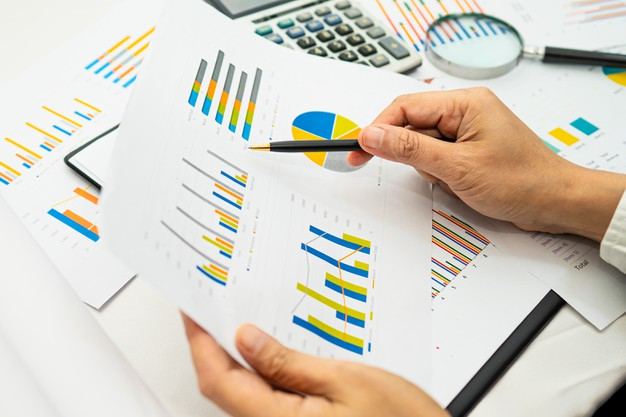 Accounting with chart